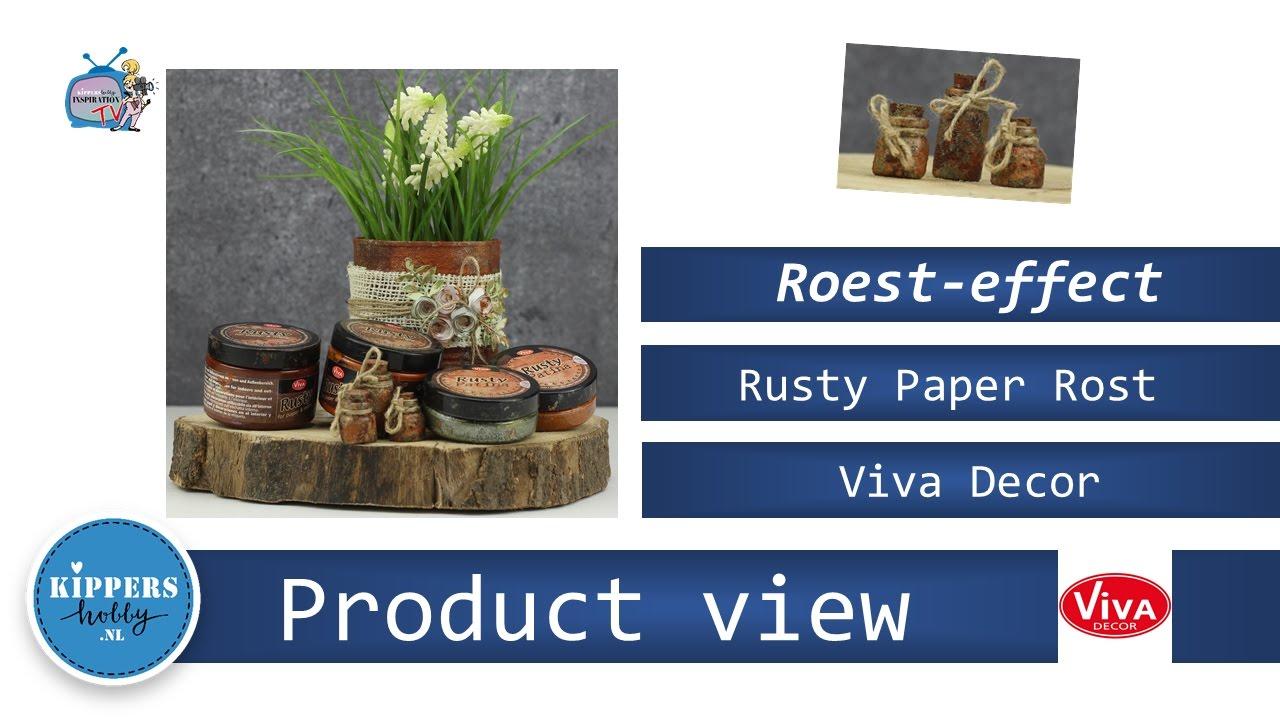 Viva Decor Rusty Paper