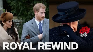 Royal Rewind: The Queen In Tears And Harry & Meghan Are Skipping Christmas