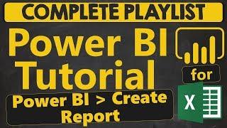 Power BI البرنامج التعليمي للمبتدئين: Power BI. إنشاء تقرير (1.5.1)
