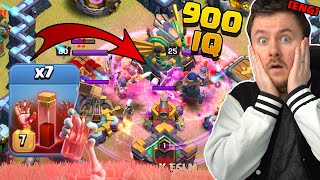 PRO Team abuses the NEW META to challenge the World Champions | Clash of Clans English