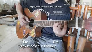 Kung sakaling ikaw ay lalayo - fingerstyle guitar cover