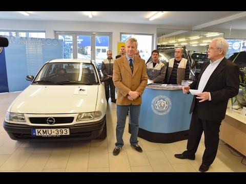 Újra rendőrautó lehet a 20 éve gyártott, most felújított Opel Astra F 1.6 GL Police
