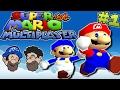 We already broke the game :D || PART 1 || Super Mario 64 Multiplayer || HOBO BROS