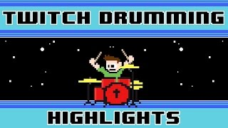 Xi - Blue Zenith (Drum Cover) -- The8BitDrummer