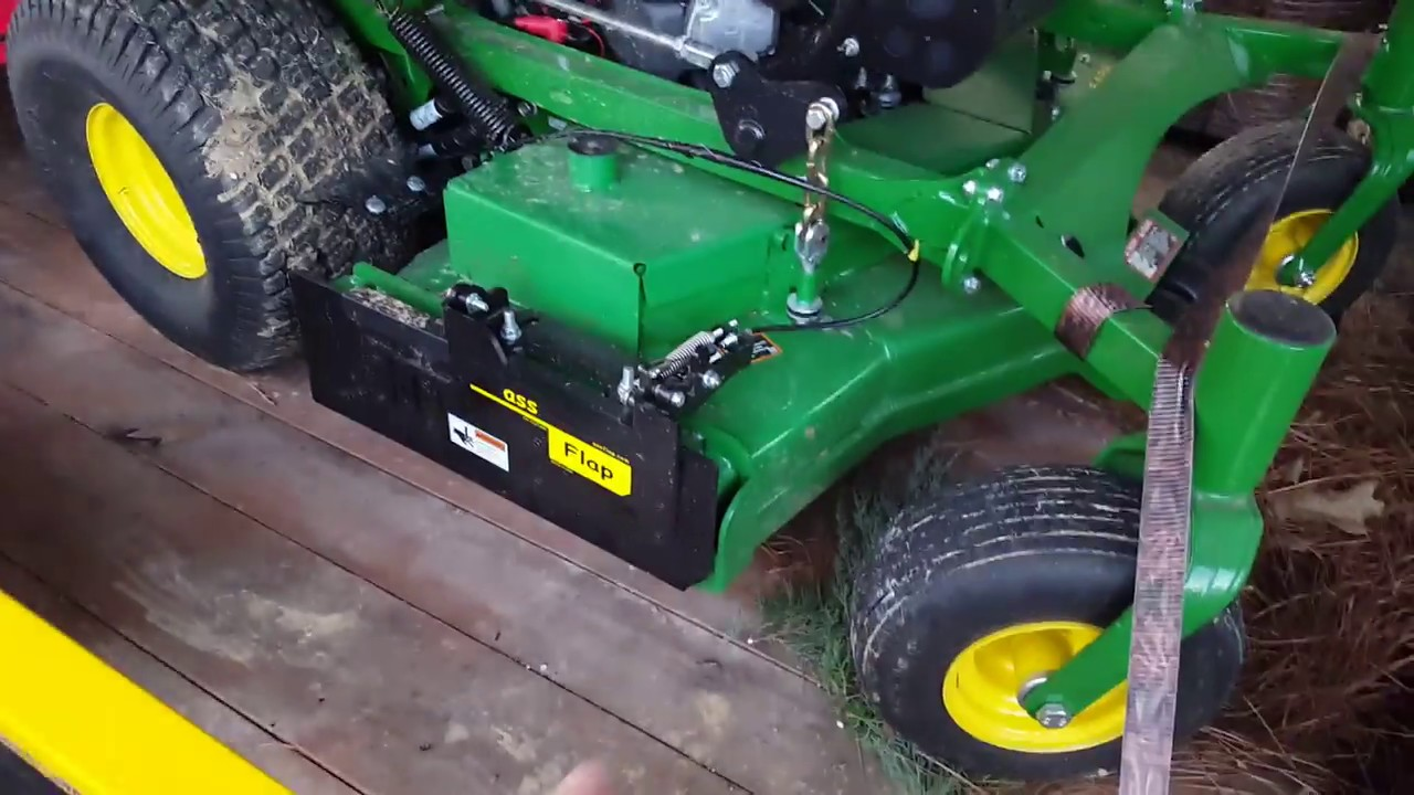Grass Flap Full Review On John Deere Stander