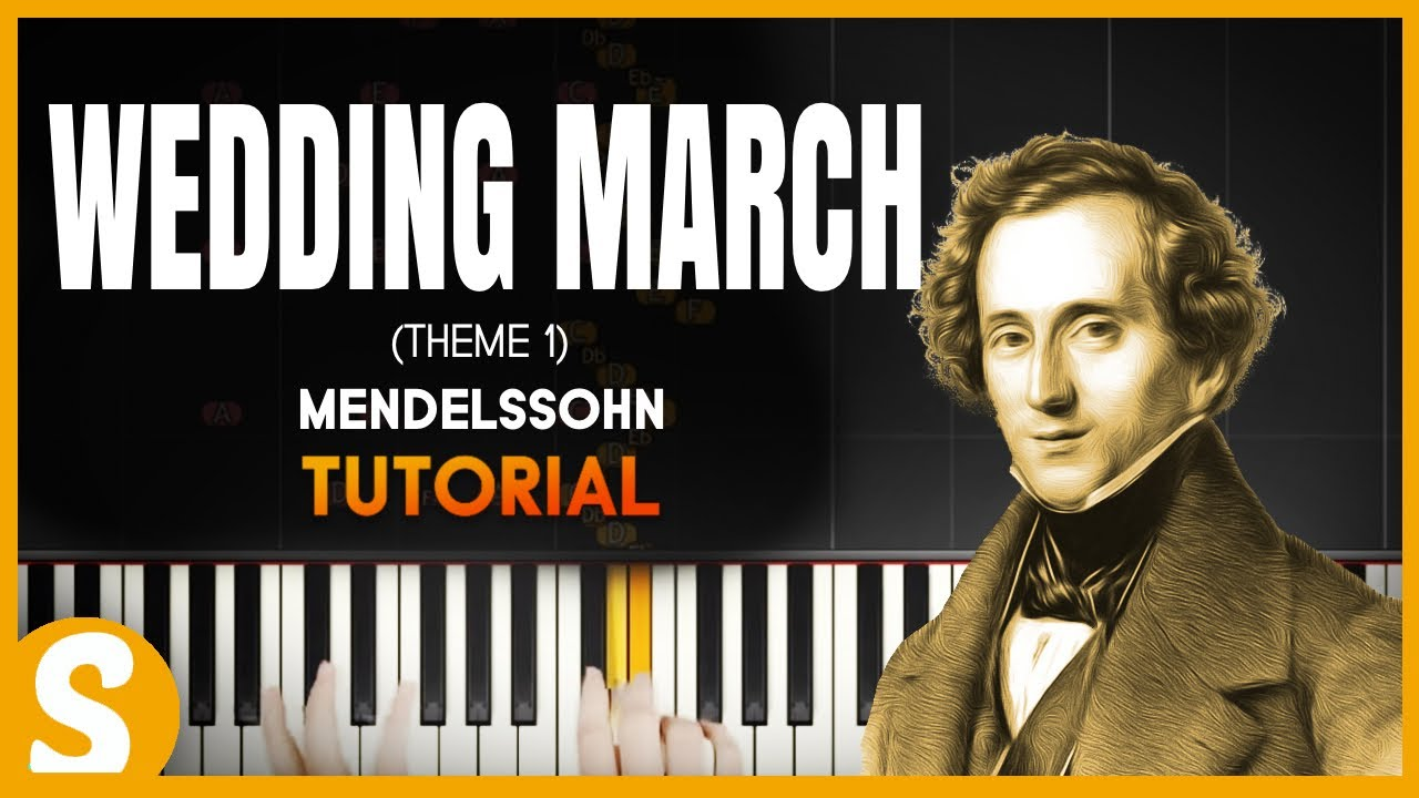 How To Play Wedding March By Mendelssohn