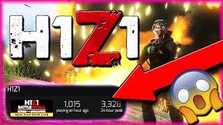 H1Z1 IN ITS WORST STATE!! - New Shotgun, Magnum, and Sniper Update!