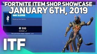 Fortnite Item Shop KNEE SLAPPER IS FINALLY HERE! [January 6th, 2019] (Fortnite Battle Royale)