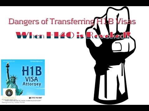 Transfer H1B visa and Revoked Form I-140 - Analyzing the Risks!