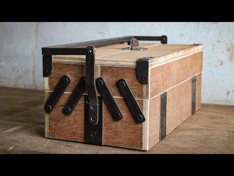 How To Make Toolbox || Homemade Toolbox