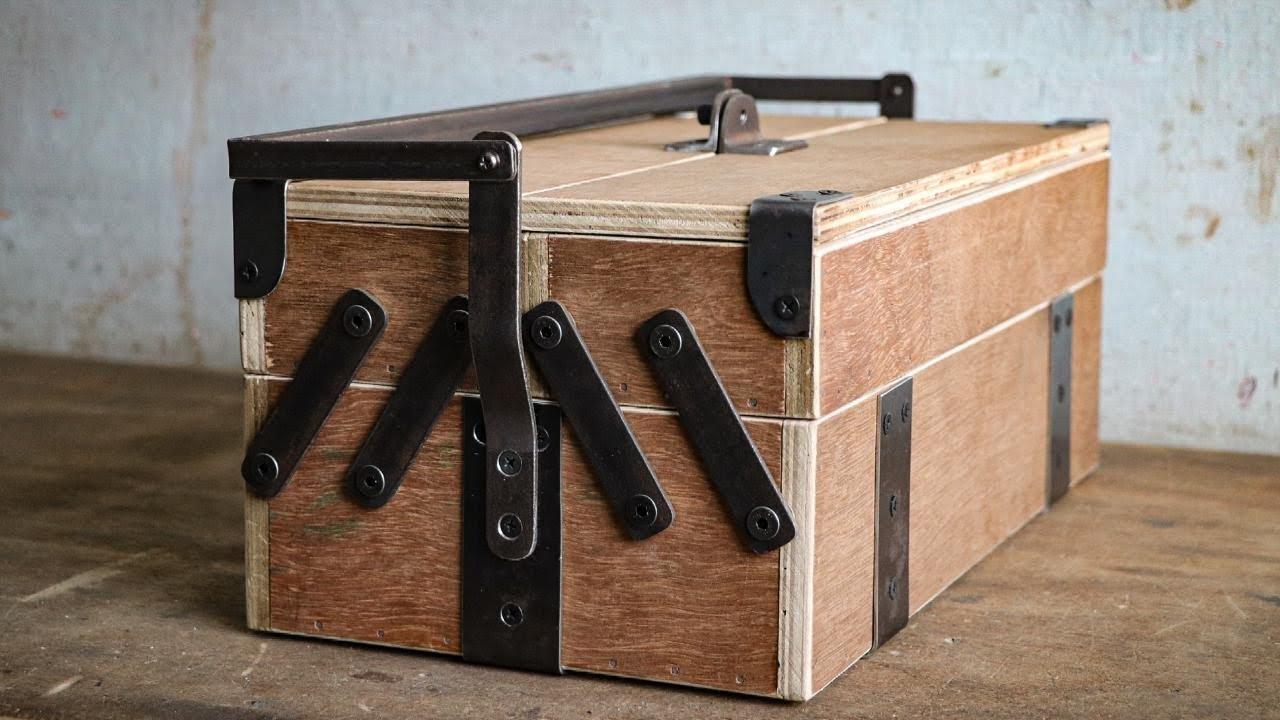 Един страхотен, масивен и интересно изглеждащ куфар за принадлежности, който можете да направите и с