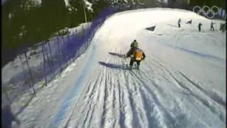 An Amazing Look At Freestyle Ski Cross - Vancouver 2010 Winter Olympics