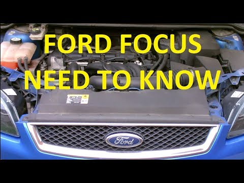 Must Know Parts of the Ford Focus Engine - YouTubeYouTube