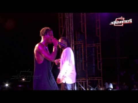 Stonebwoy - Not again on KNUST campus MTN Pulse Invasion 2015