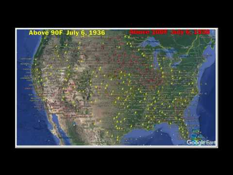 July 6, 1936 - 121 Degrees In North Dakota