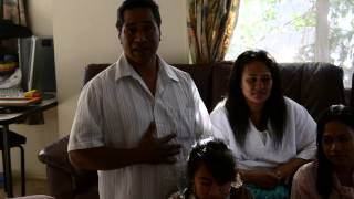 West Auckland Family Giving Thanks - Best Christmas Ever