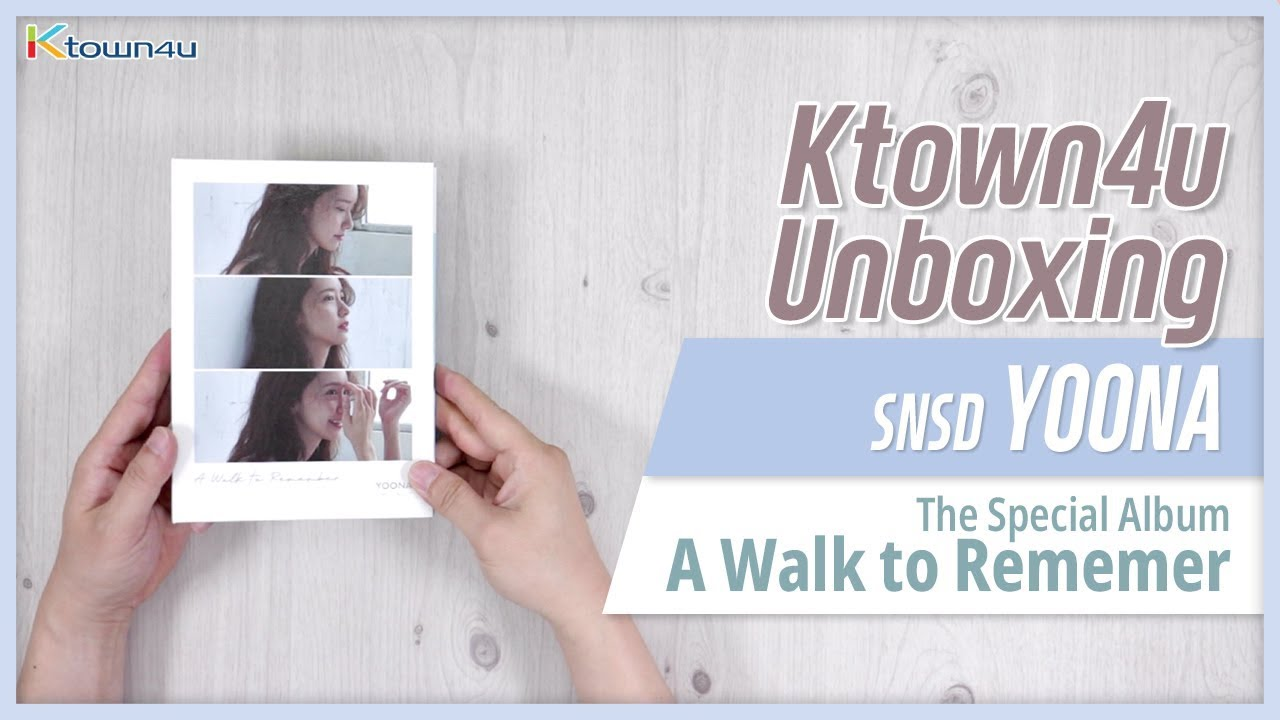 KPOP Ktown4u com : YOONA - Special Album [A walk to remember]