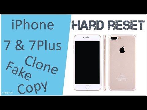 Hard reset iPhone 7 & iPhone 7 Plus Clone, Copy | Factory Reset