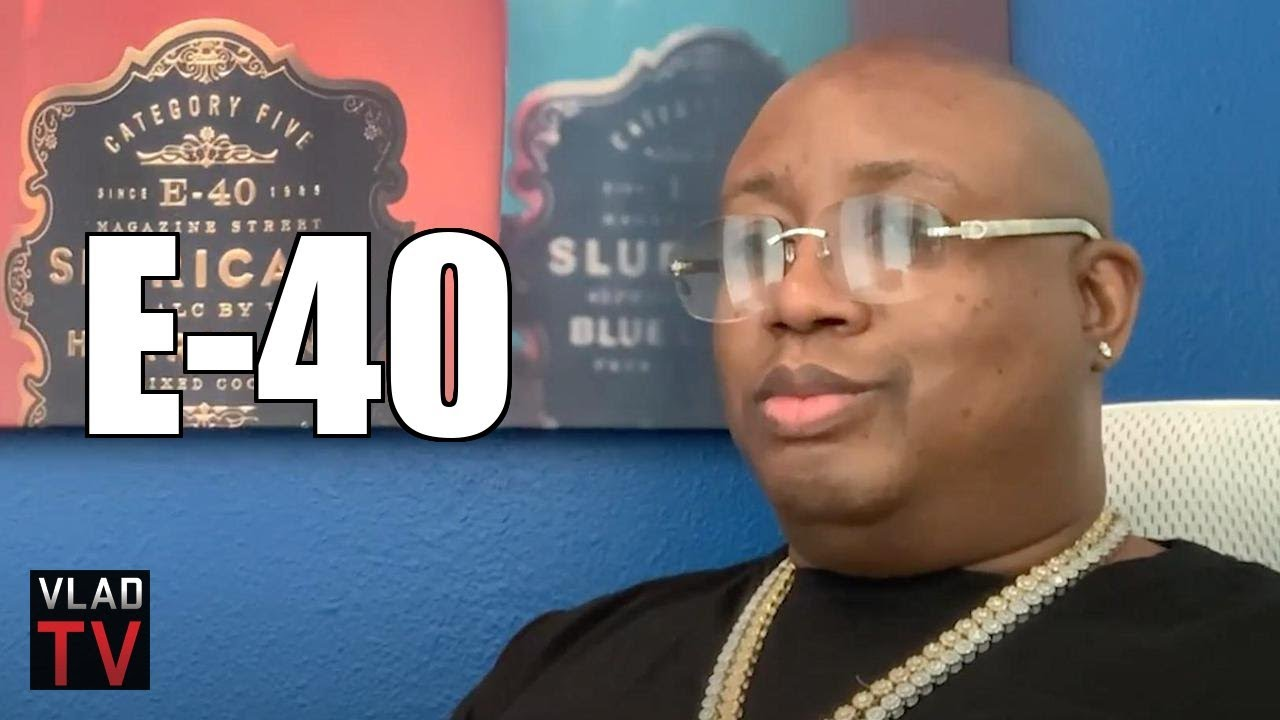 E-40 on 2Pac Pulling Out 2 Guns Before He Started Writing His Raps (Part 5)