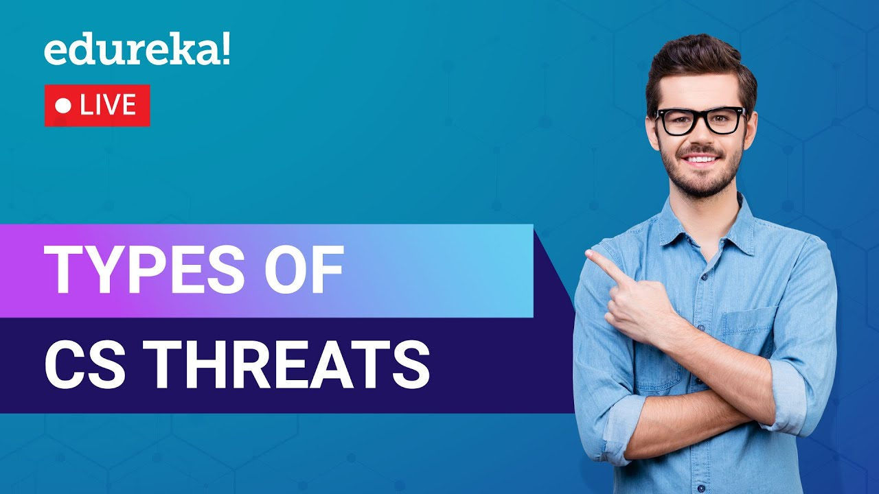 Types of Threats in Cyber Security | Cyber Threats | Cybersecurity