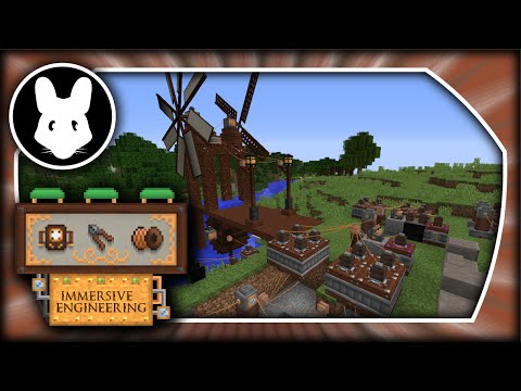 Immersive Engineering: Getting Started Bit-by-Bit - Powah! Minecraft 1.10.2/1.11.2
