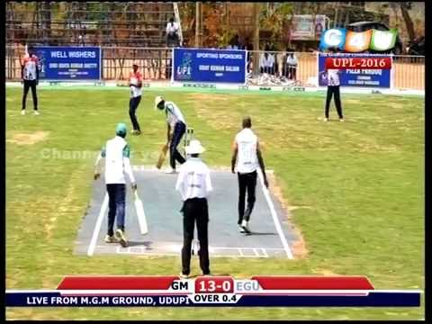 UDUPI PREMIER LEAGUE T10-Evergreen Sports Club, Mangalore VS Gugie 11 Mumbai -2016 (2nd Inning)