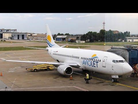TRIPREPORT | Aviolet (Air Serbia) Boeing 737-3H9 | Belgrade - Girona Costa Brava