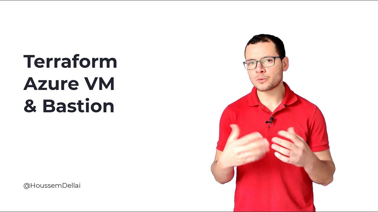 Terraform for Windows VM & Bastion