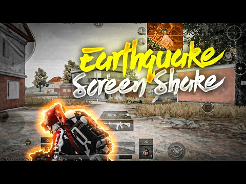 Earthquake ScreenShake🤡| OnePlus 7T PubG Test | Smooth Extreme 90 FPS Montage