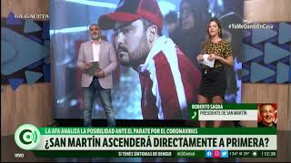 ¿San Martín ascenderá directamente a Primera División?