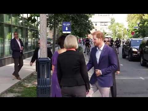 Prince Harry Visits CAMH