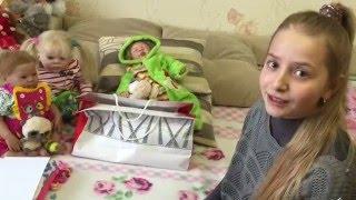 Розпакування нової малятка реборн і шезлонга !!_)))