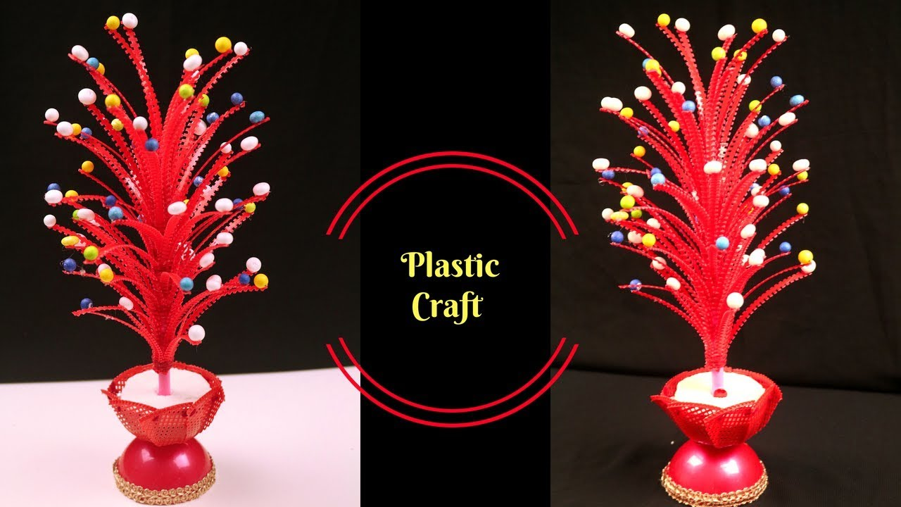 Best Diy Craft Ideas Best Reuse Of Waste Plastic Basket Craft Idea