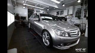 【寶傑洗車】Mercedes-Benz C280 Estate (GYEON 激昂鍍膜-殿堂凱旋)[施工影片]