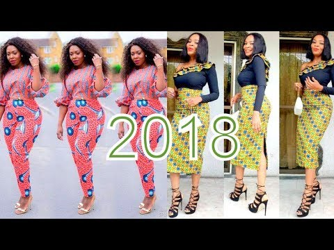AFRICAN DRESSES 2018 DESIGNS: BEAUTIFUL AND STYLISH AFRICAN DRESSES COLLECTION