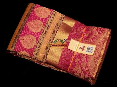 Latest Kanjivaram Silk Sarees with Price above 7K | Million Designs | SS