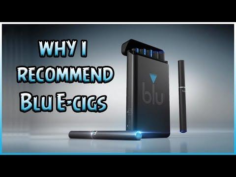 Why I Recommend Blu E-cigs