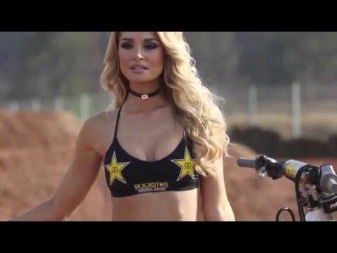Anna Katharina rockstar model video | TransWorld Motocross