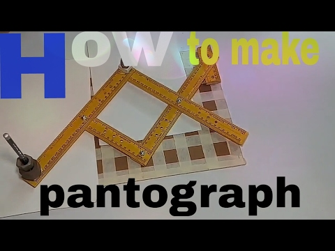 #Trending #Video How to make a pantograph at home   DIY tips and tricks to make pantogrph