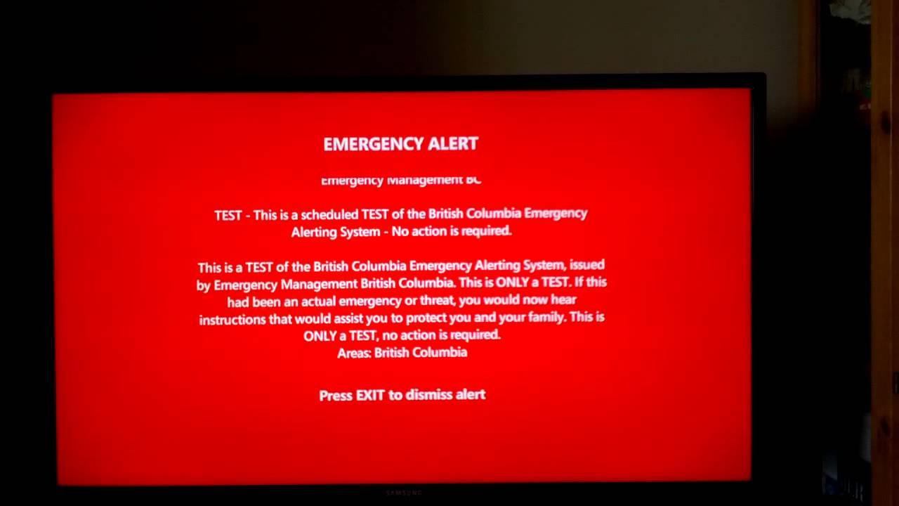 Não se assustem hoje (21/03) - teste sistema de alerta para emergências