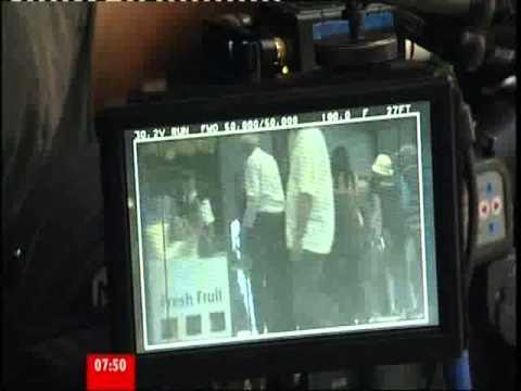 BBC Breakfast Spooks on Set
