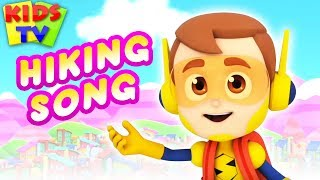 Hiking Song | Super Supremes | Music for Kids & More Nursery Rhymes