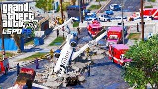 GTA 5 Police Mod   LSPDFR #111 - U.S Airforce Evacuation