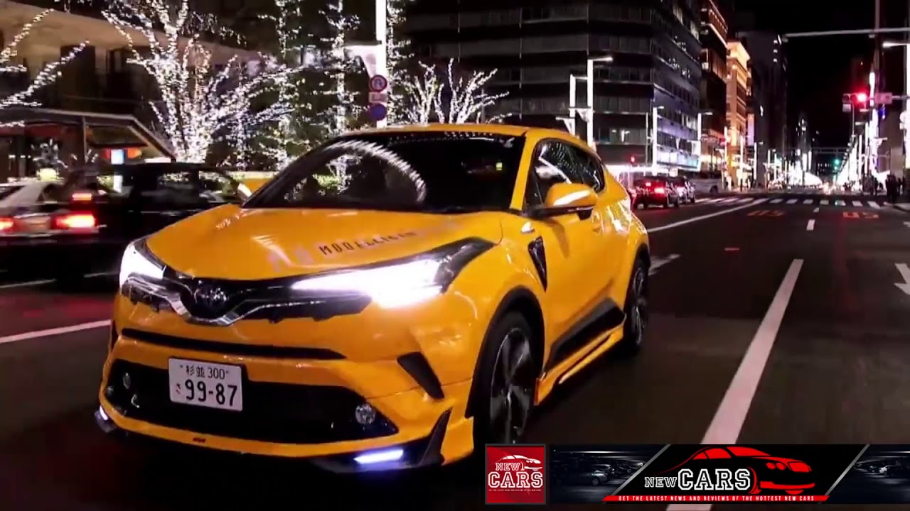 modified new toyota c hr car 2018 2019 youtube. Black Bedroom Furniture Sets. Home Design Ideas