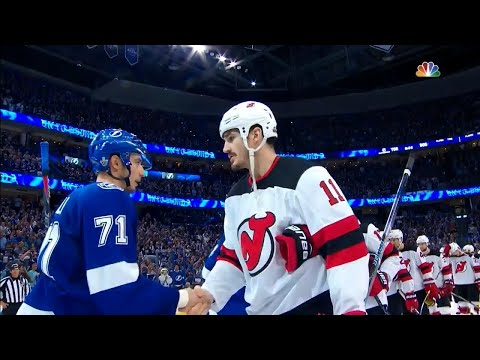 Handshakes: Lightning beat Devils in five games