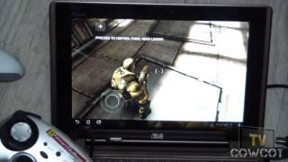 [Cowcot TV] Jouer en Tegra 2 : Shadowgun et les manettes