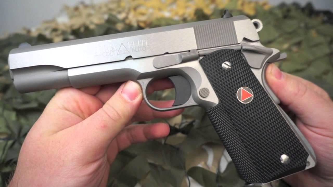 Colt Delta Elite 10mm 1911 Series 80 Pistol Review - Texas Gun Blog