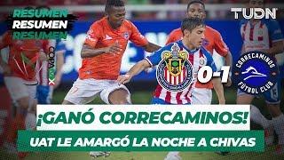 Resumen y Goles Guadalajara 0 - 1 UAT | Copa Mx Apertura 2019   Jornada 4 | TUDN