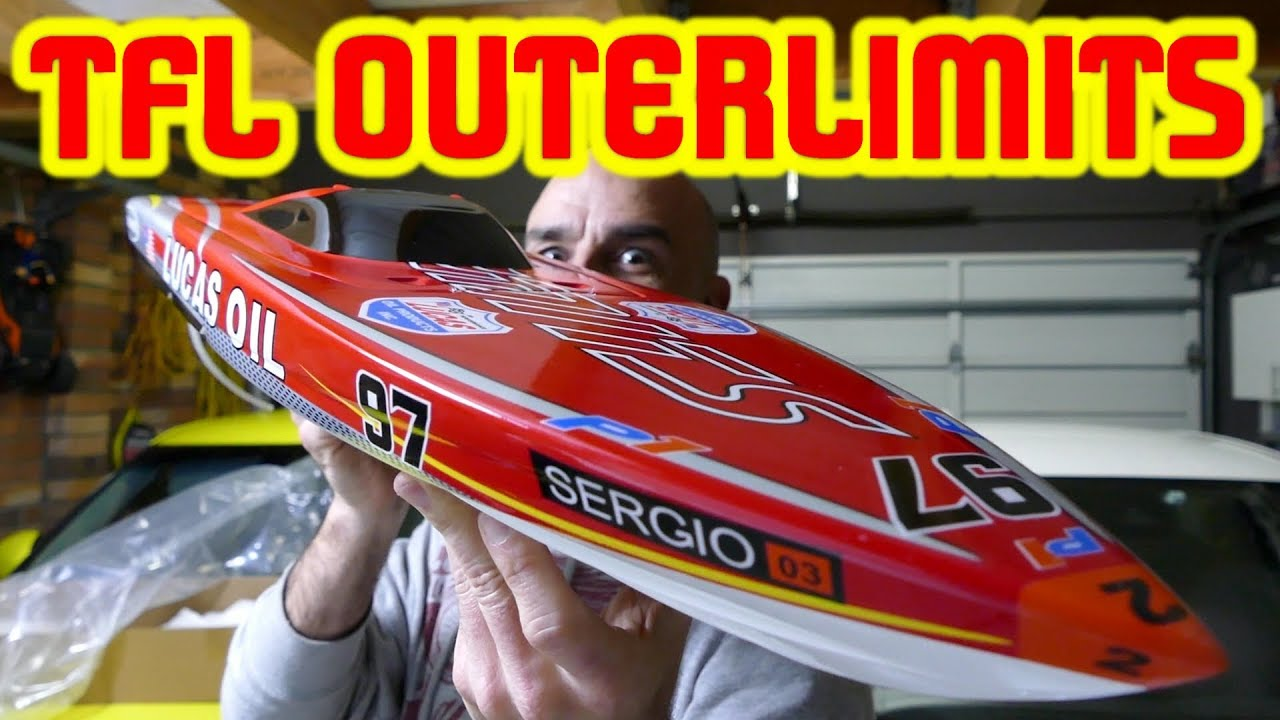 TFL OUTERLIMITS 880MM RC BOAT - 120AMP 6S BEAST - Unboxing & In Depth Look