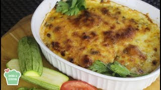 Zucchini and Bechamel Casserole - Episode 203 - Amina is Cooking